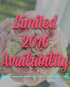 The Floral Cottage has limited availability for 2016 weddings! April May and October have very few dates available. June and July are filling up fast too. Contact us to find out if your date is available. We'd love to design for you! Email thefloralcottageflorist@yahoo.com or request a consultation on our website. Link in bio.  #thefloralcottageflorist #2016wedding #weddingflorist #nolawedding #nolaweddings #neworleanswedding #neworleansweddings #ascensionweddings #batonrougewedding…