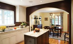 Kitchen remodel featuring custom cabinetry from Cooley Custom Cabinetry. #cooley #housetrends