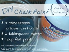 The Best DIY Chalk Paint Recipe - Refresh Living