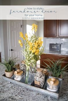 Today I am sharing how to make Farmhouse Decor come alive in your home!   I'm sharing my favorite tips so you can begin your transformation to Farmhouse chic!   http://simplydesigning.porch.com/how-to-make-farmhouse-decor-for-your-home/ Hobby Lobby  #HobbyLobbyStyle #NationalDecoratingMonth #ad
