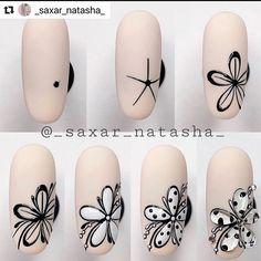 Nail Art Designs Videos, Cute Nail Art Designs, Nail Art Videos, Nail Art Hacks, Nail Art Diy, Nail Art Fleur, Nail Art Techniques, Floral Nail Art, Swarovski Nails