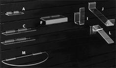 Slatwall Shoe Shelves | Melvin Roos