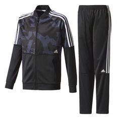 Adidas Train TS trainingspak junior black blue