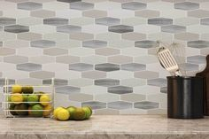 Beautiful Kitchen Backsplash: Peel N' Stick, Peel and Stick, Guaranteed to Stick! Kitchen Backsplash Panels, Peel N Stick Backsplash, Mosaic Backsplash, Peel And Stick Tile, Stick On Tiles, Mosaic Tiles, Backsplash Ideas, Tile Panels, Updated Kitchen