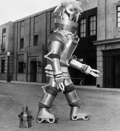 Robert the robot    1954, New York