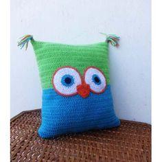 Almohadon Al Crochet - Tejidos Artesanales - $ 350,00