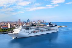 Guess where the MSC Armonia is pictured? Image MSC Cruises