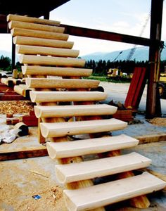 Best How We Chose A Log Staircase For Our Log Cabin Fun Time 400 x 300