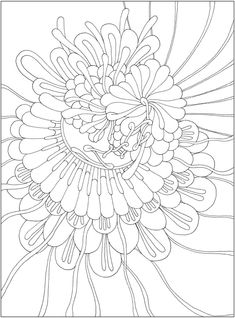 CH Tranquility Colouring Book - Welcome to Dover Publications Pattern Coloring Pages, Printable Adult Coloring Pages, Colouring Pages, Coloring Sheets, Free Coloring, Creative Haven Coloring Books, Dover Publications, Zentangle Patterns, Colorful Drawings