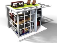 Dylan House | brinca dada Super cool doll house that's not PINK!