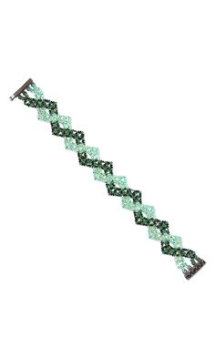 Jewelry Design - Bracelet with Swarovski Crystal Beads and Seed Beads - Fire Mountain Gems and Beads