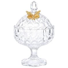 Crystal Candy Bowl Glass Fruit Basket With Base For Home And Wedding - Buy Crystal Fruit Bowl,Glass Candy Bowl,Crystal Glass Bowl Product on Alibaba.com Nice Gifts, Gifts For Him, Best Gifts, Crystal Pen, Crystal Gifts, Candy Bowl, Glass Candy, Buy Crystals, Household Products