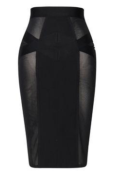VARIOUS COLOURS 2 PC Figure Hugging Wet Look /& Sheer Mesh Mini Skirt /& Top Set