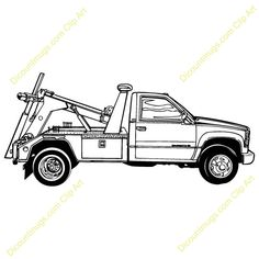 tow truck clip art tow truck royalty free images photos and rh pinterest com flatbed tow truck clip art free tow truck clip art vector