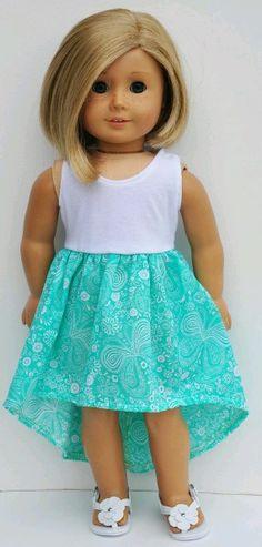 I love the hi-lo skirt