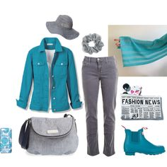 Sunday 01 by anna-suchodolska on Polyvore featuring moda, Joe's Jeans, Hunter, MARC BY MARC JACOBS, Joyrich, Scoop, Lilly Pulitzer, Natasha Couture, Summer and scarf