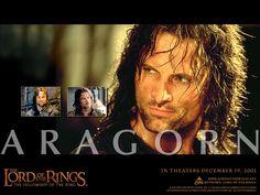 played by Viggo Mortenson....  a fine fine looking Hero :)