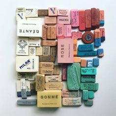 November Print of the Month - Lisa Congdon Eraser Collection Lisa Congdon, Eraser Collection, Art Et Illustration, First Photograph, Design Graphique, How To Make Notes, Color Stories, Grafik Design, Color Theory