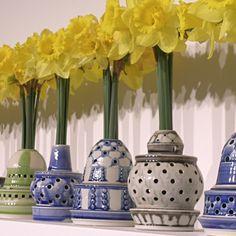 Brush Mccoy Blue Gladiolus Vase 721 Ebay Mccoy Pottery Pinterest Discover More Best
