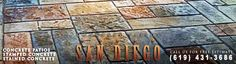 Concrete Patios San Diego offers a variety of concrete solutions to your patio projects. Call Us for a free estimate (619) 431-3686. http://concretepatiossandiego.com/