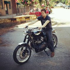 Hey Norman! Let me ride you....*cough* er...Let me go for a ride with you!! ;)