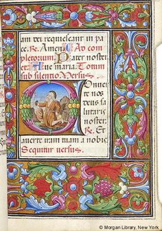 Book of Hours, M.256 fol. 10r - Images from Medieval and Renaissance Manuscripts - The Morgan Library & Museum