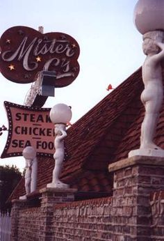 Mister C's in Omaha, Nebraska Steakburgers/never hamburgers! Had my 7th birthday here.  Sad it's now closed.