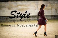 Hanneli - Style Inspiration - http://lookat-u.blogspot.com/2012/05/my-inspiration-hanneli-mustaparta.html