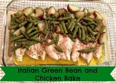 Super easy and kid friendly baked chicken recipe! Only 5 ingredients!