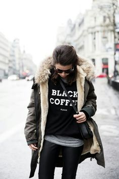 ♥ Black Coffee Shirt