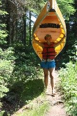A portage in the canoe country of the BWCA. Whitewater Kayaking, Canoeing, Mi Photos, Camping Needs, Boundary Waters, North Country, Base Jumping, Canoe Trip, Lake Superior