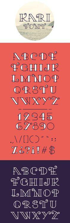 Kari - Free Font