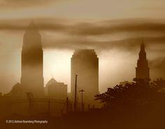 Early AM Skyline, Cleveland OH, 2013 By Kolman Rosenberg www.photographyunposed.wordpress.com