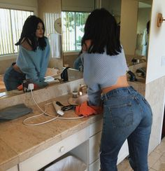 Levi's Introduces New Jeans For The Perfect Butt #refinery29  http://www.refinery29.com/2016/01/102183/levis-wedgie-fit-jeans#slide-2  Pull a Kylie Jenner and rock them with a cropped sweater.Levi's Wedgie Fit Jean, $88-158, available at Levi's....