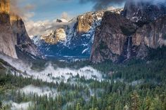 SEASONAL – Valley Fog, Yosemite, California photo via doug