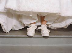 vestido de novia: Novias de zapatillas