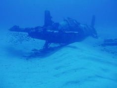 scuba+diving+plane+wrecks | Corsair Airplane Wreck Oahu, Hawaii