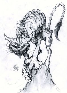 Cheshire Cat by EllisonPav on deviantART
