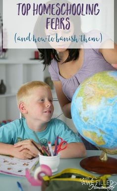 Dear Momma, I know that many times are top homeschooling fears can get the best of us. We start listening to those fears vs the truth. Here's how to banish those homeschool fears and thrive. #homeschool #homeeducation #homeschoolmom #Classicalconversation ##classicaleducation #fears via @AFHomemaker