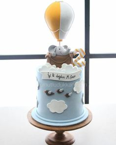 31 Ideas Baby Shower Food For Boy Desserts Birthdays Baby Boy Birthday Cake, Novelty Birthday Cakes, Baby Boy Cakes, First Birthday Cakes, Cakes For Boys, Girl Cakes, Baby Shower Cakes, Festa Party, Cute Cakes