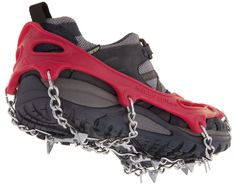 Kahtoola MICROspikes Traction System - Free Shipping at REI.com. Decent snow grips. Not quite cramp ons but heavier duty than most grips.