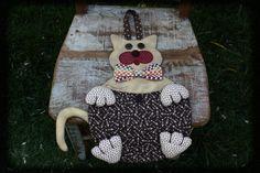 porta treco gato patchwork