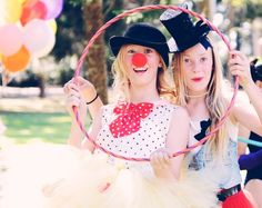Fun times dressing up for Tessa's circus themed party. Photography Linley Gordon.