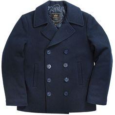 US Navy pea coat