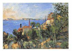 #retweet #postcard Postcard Art LANDSCAPE, STUDY AFTER NATURE, L'ESTAQUE c1878-82 Paul Cezanne #84 http://stores.ebay.co.uk/stampsvintage