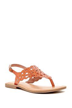 Breeana Cutout Sandal by Rock & Candy on Rock Candy, Sock Shoes, Little Things, Pretty Little, Nordstrom Rack, Socks, Sandals, Heels, Leather