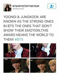 When the ones that hide their emotions cry, you know this is big for them #HwaitingBTS