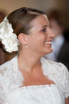 Haarschmuck Braut Hochzeit  Fascinator ~Hanna_1_~ von kido-design auf DaWanda.com