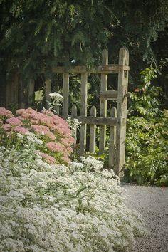 Sizergh Castle Gate, Cumbria, England