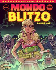 The new art book MONDO BLITZO is now available for pre-order in the web…